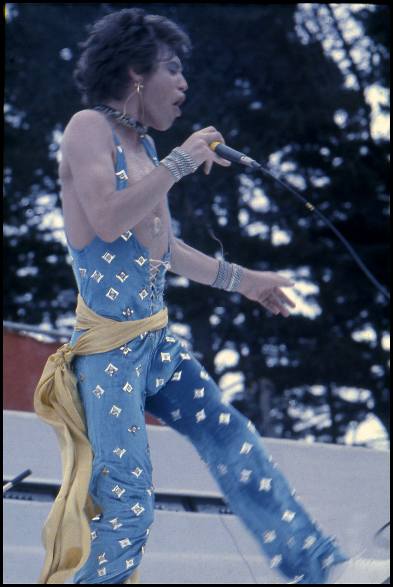 Mick Jagger, Western Springs, New  Zealand, 1973, lloyd Godman